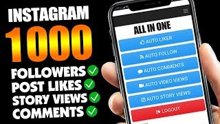 GET 500 FREE INSTAGRAM FOLLOWERS AND LIKES 2019 - HOW TO INCREASE FOLLOWERS ON INSTAGRAM 2019
