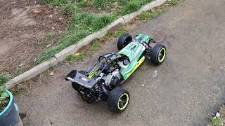yama gas rc buggy