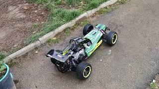 yama gas rc buggy