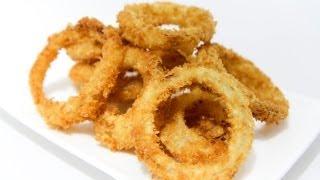 How To Make Crispy, Crunchy Onion Rings - Video Recipe