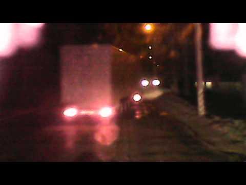видио которое доказывает  что водитель фуры не виновен трасса М7 08.04.2013