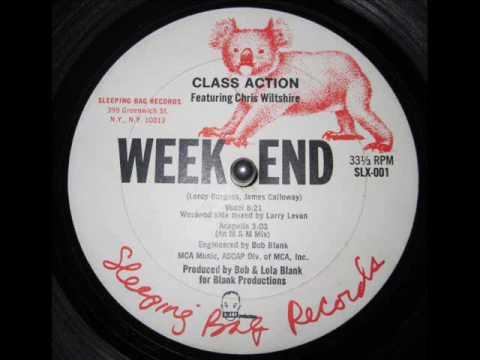 Class Action - Weekend (larry levan mix) (Sleeping Bag Records)