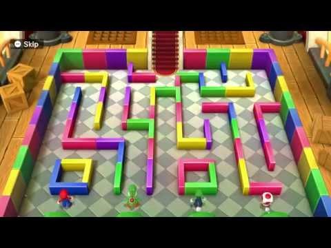 Mario Party 10 - Mega Monty Mole's Maze Mischief
