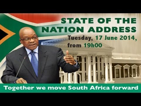 President Jacob Zuma's State of the Nation Address,17 June 2014