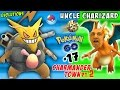 UNCLE CHARIZARD! Pokemon Go CRAZY Evolutions in CHARMANDER TO...