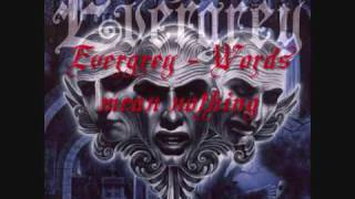 Watch Evergrey Words Mean Nothing video