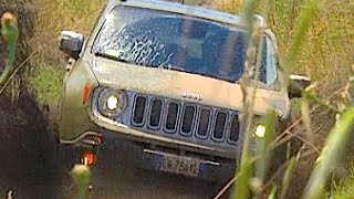 NEW JEEP RENEGADE 2.0 MJT DIESEL 140 CV 4WD LIMITED 2015 - ROCKS AND MUD OFFROAD TEST DRIVE