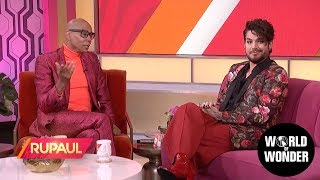 'RuPaul' with Adam Lambert!