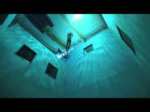Guillaume Néry Playing At NEMO 33, Deepest Swimming Pool In The World