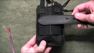 Paracord Belt Loop on Maxpedition Mini Pocket Organizer