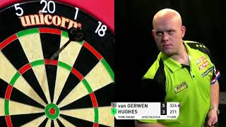 Michael van Gerwen 9 Darter...WITHOUT 180s - 2019 PDC Pro Tour