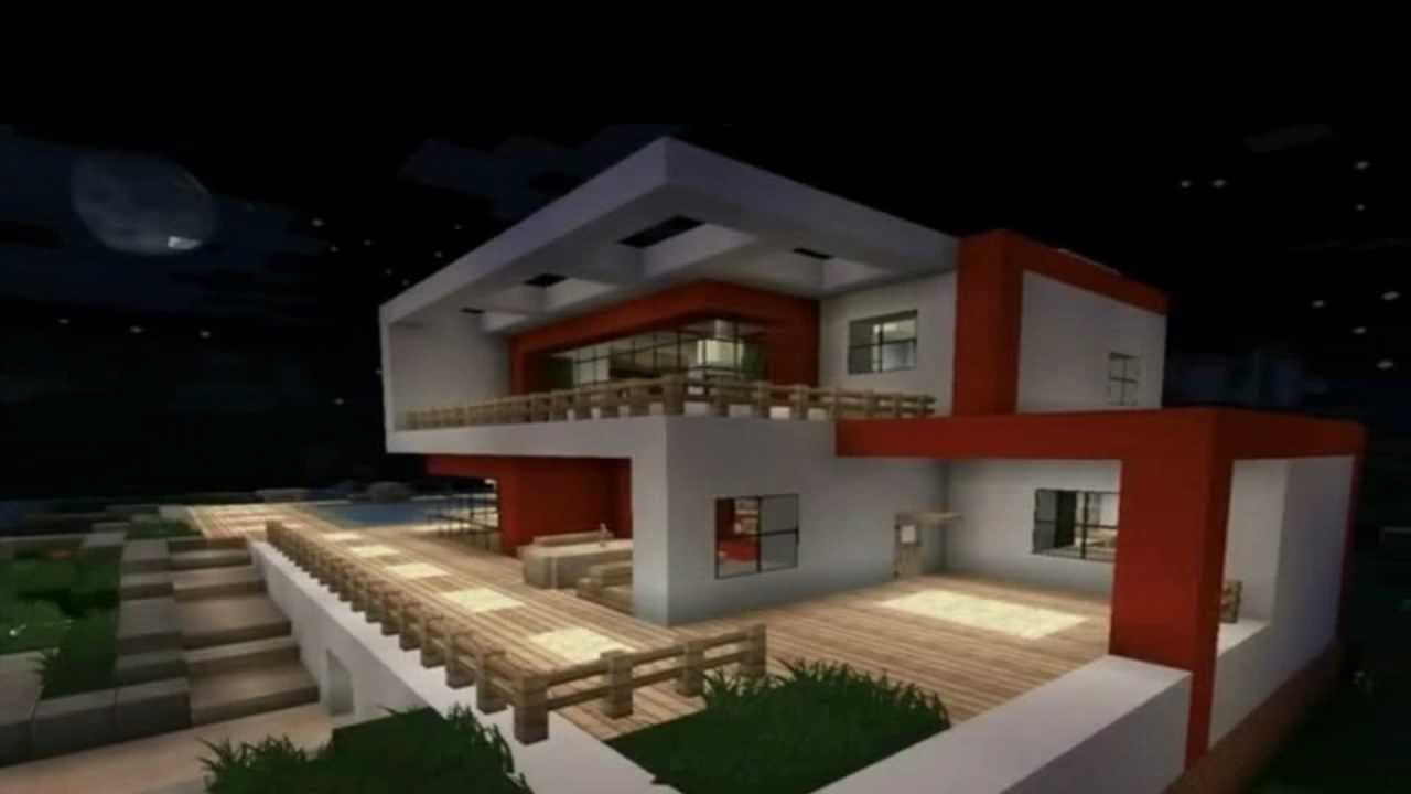 Top 10 casas mais epicas no minecraft 2 youtube - Ver casas bonitas ...