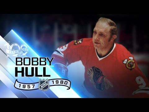 Bobby Hull used slap shot to win three scoring titles