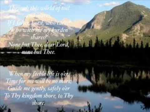 Just a closer walk with thee: by Sara Evans, with Lyrics.