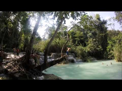 Kuang Si Waterfalls, Luang Prabang, Southeast Asia, 2015