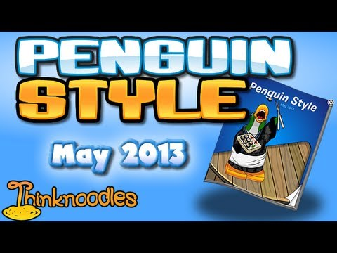Club Penguin: May 2013 Clothing Catalog Cheats