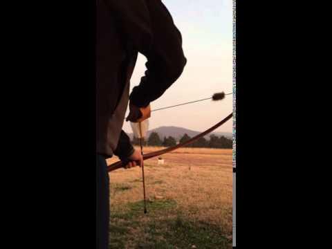 Blunt tip arrow