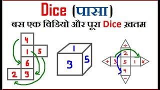 Reasoning ||Short Tricks |Dice (पासा) For Railway Group D, SSC CGL,CHSL,CPO