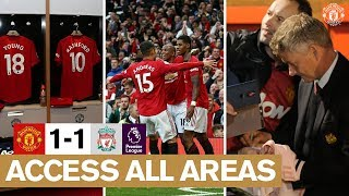 Access All Areas | Manchester United 1-1 Liverpool | Premier League