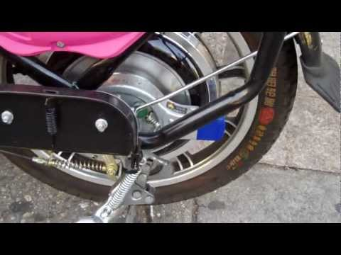 Pink electric bicycle US$ 700 from Green Power Technology Inc.mp4