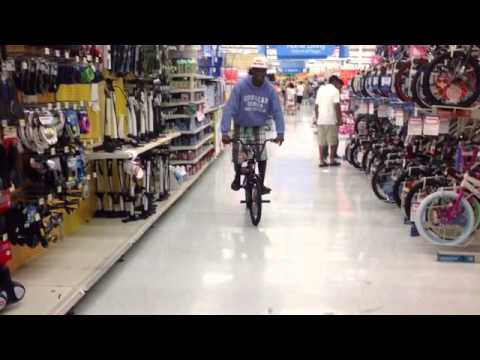 People of Walmart ( BMX Tricks )
