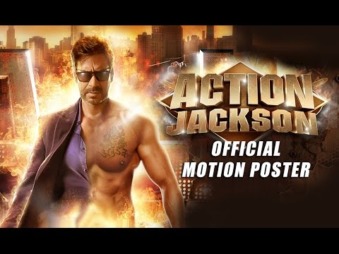 Action Jackson (Official Motion Poster) | Ajay Devgn & Sonakshi Sinha
