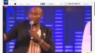 DKB cracks jokes at the 2015 Ghana Meets Naija Concert
