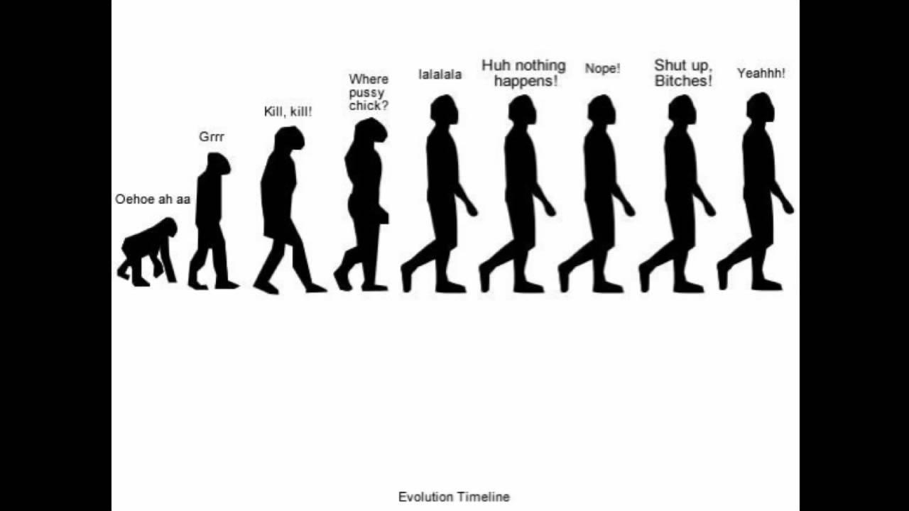 Evolution of humans timeline