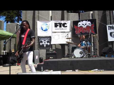 D.H. Peligro (live) @ Tidal Wave 2012 free metal concert 7.15.2012 in S.F.