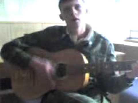 песня под гитару падал снег
