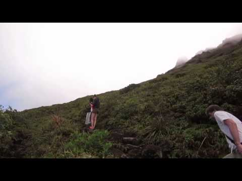 La Soufriere volcano in Guadeloupe