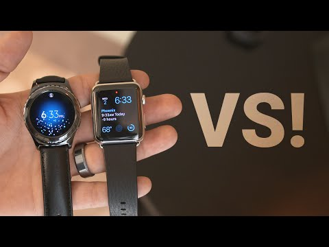 Samsung Gear S2 vs Apple Watch!