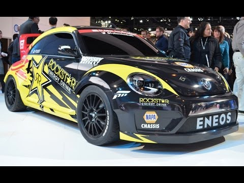 Volkswagen Beetle Global Rallycross Racer - 2014 Chicago Auto Show