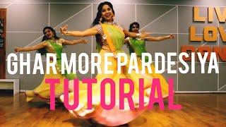 #gharmorepardesiya  TUTORIAL GHAR MORE PARDESIYA/ RITU DANCE SURAT