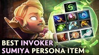 BEST INVOKER trying PERSONA FIRST TIME — 9 SLOTS Sumiya REFRESHER COMBO