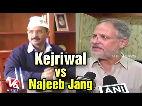 Delhi CM Arvind Kejriwal vs Delhi lieutenant Governor Najeeb Jang (16-05-2015)