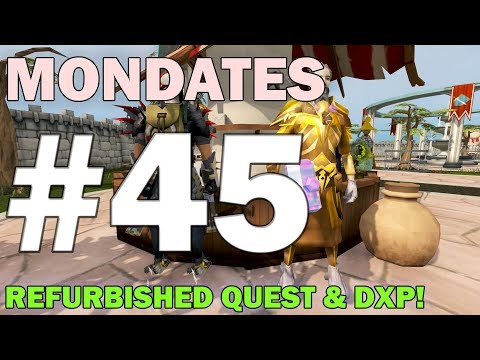 Runescape's Mondates | Journey 45 [REFURBISHED QUEST & PATCH NOTES!] Runescape 3 Updates