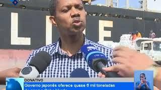 Governo japonês oferece quase 6 mil toneladas de arroz a Cabo Verde