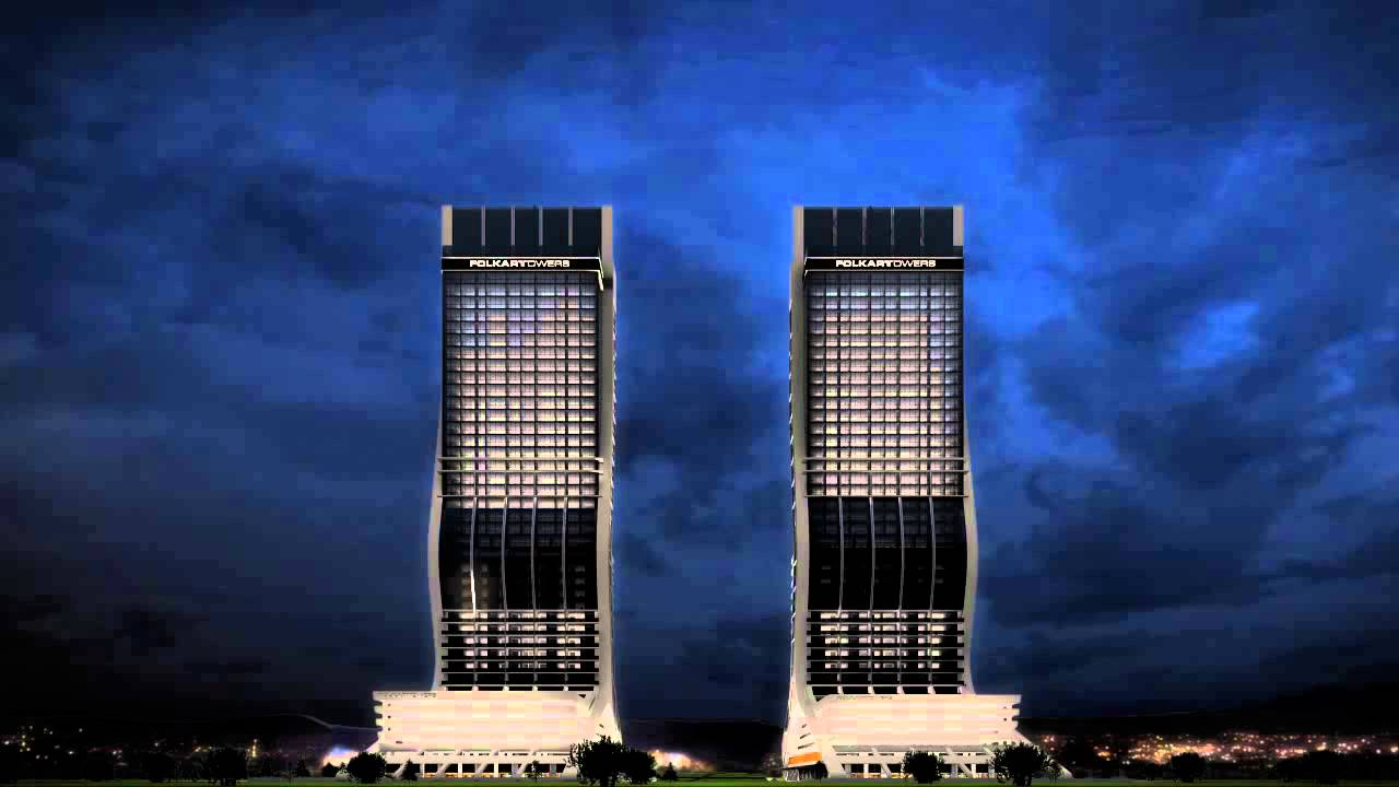 Folkart Towers Facade Led