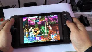 [Gameplay on JXD S7800B-KOF97 The King of Fighters(PSP/PS2) C...] Video
