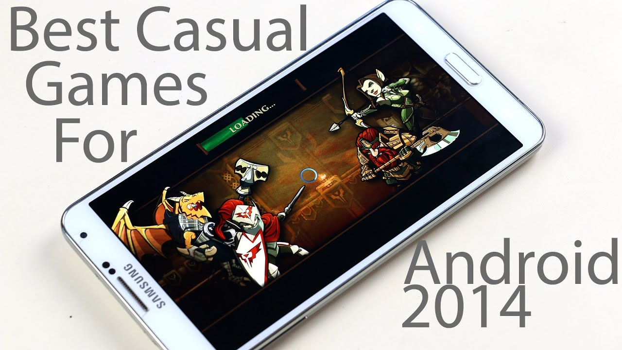 top five android games 2014