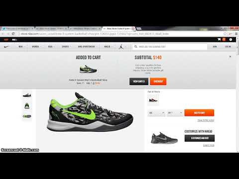 How to setup and Demo of Secureyourkicks Nike Bot