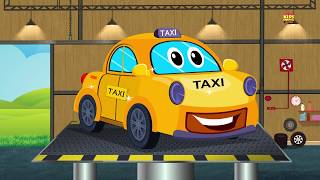 taxi cho trẻ em   rửa xe   video trẻ em   Learning Video   Car Wash Video   Taxi For Children's