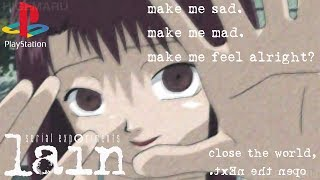 serial experiments lain (???? ???????? ???) PlayStation?? - 1080p 60fps