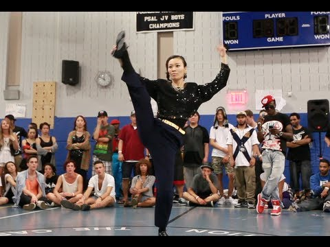 Finals: Essence vs Princess 1G | Step Ya Game Up 2012 Waacking | Funk'd Up TV