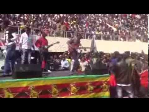 Alick Macheso at the National Sports Stadium - Defence Forces Day 13 Aug 2013