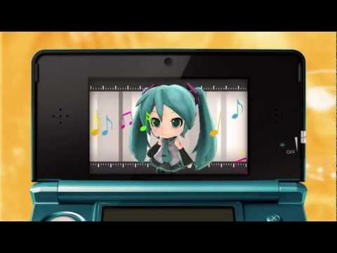 Hatsune Miku: Project Mirai 3DS trailer