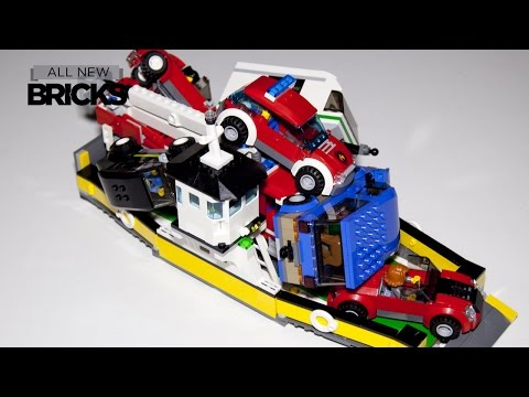 Lego City 60119 Ferry Speed Build