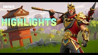 Highlights/Funny moments! (Fortnite Battle Royale)