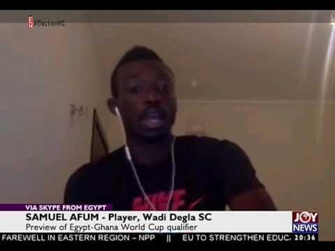 Ghana World Cup Qualifer - Joy Sports Prime (27-10-16)